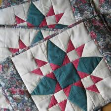 quilted placemats and mug rugs newmoondesigns artfire shop