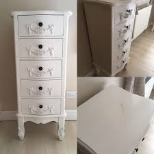 Toulouse Bedroom Furniture White Toulouse Shabby Chic Bedroom Furniture Chest Of Drawers Bedside
