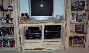 Home Entertainment Furniture Log Home Entertainment Centers By Cedar Stuff Log Furniture And