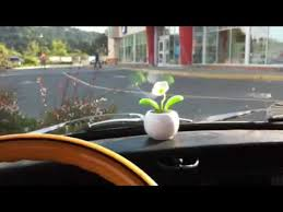 solar power plant car dashboard decoration