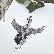 best 25 violin tattoo ideas on pinterest cello tattoo artistic