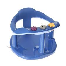 siège baignoire bébé thermobaby anneau de bain aquababy bleu achat vente assise bain