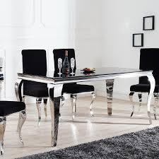 Esszimmertische Modern Esstisch Modern Barock 200 Cm Tisch Opalglas Esszimmertisch