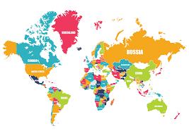 Norway World Map by Our New Partner U2013 Lean Business Platform International