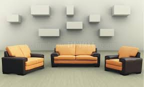 Living Room Sleeper Sets Two Tone Modern Living Room Set With Sleeper Sofa