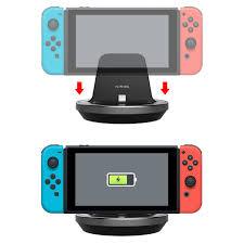kidigi usb type c charging stand dock charger nintendo switch