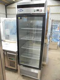 coca cola fridge glass door secondhand catering equipment drinks fridges
