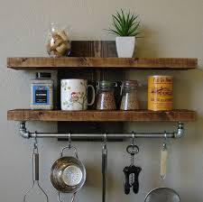 Kitchen Wall Shelving by Best 25 Industrial Pot Racks Ideas On Pinterest Pot Rack Pot