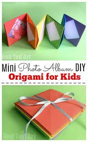 Accordion Photo Album Mini Origami Photo Album Accordion Photo Book Red Ted Art U0027s Blog