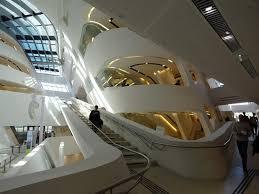 zaha hadid interior wu wirtschaftsuniversität wien the famous library by zaha hadid