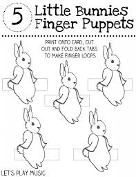 free printable puppets let u0027s play music