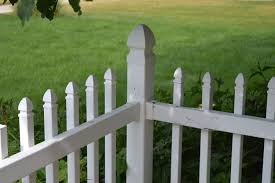 my broken and cracked white picket fence