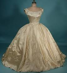 antique wedding dresses original vintage wedding dresses satin gowns and
