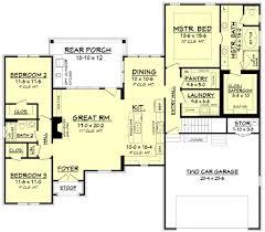 european style house plan 3 beds 2 baths 1884 sq ft plan 430