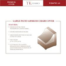 Sears Patio Furniture Covers - tk classics furniture covers sears