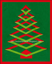 roundup 9 folded paper christmas tree christmas card tutorials