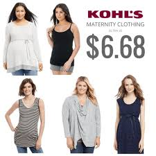 kohl u0027s maternity clothing codes tanks as low as 6 68