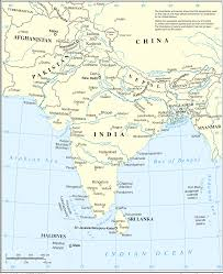 Asia Maps Map Of South Asia Southern Asia Political Map South Asia Travel Map