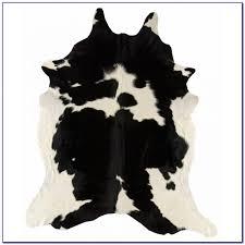 Faux Cowhide Rugs Black Angus Cowhide Rug Rugs Home Design Ideas Xynorqa6qg58872