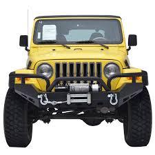 jeep wrangler road bumper 87 06 jeep wrangler yj tj xtreme front bumper