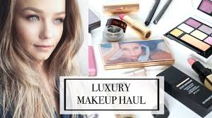 what u0027s new high end luxury makeup unboxing haul beauty life