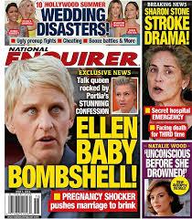 portia s portia de rossi pregnant ellen degeneres shocked photo