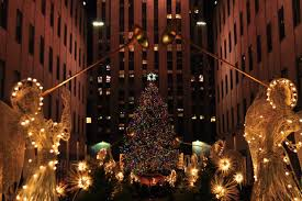 tree lighting nyc rockefeller center new