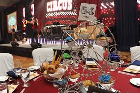 Innovative Dinner Ideas Dinner Tables Were Topped With Miniature Ferris Wheels That Held
