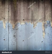 home decorators collection paint grungy concrete wall with peeling blue paint stock photo 42232450