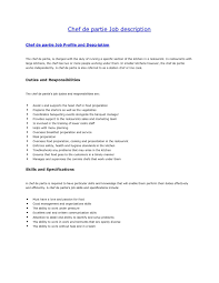 Sample Resume Cook by Chef Skills Resume Free Resume Example And Writing Download
