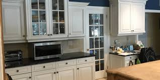 white kitchen cabinets walls white kitchen cabinets paired with navy walls monk s in nj