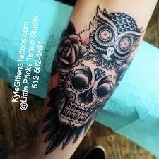 sugar skull owl skullspiration com skull designs