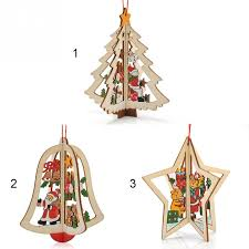 Christmas Present Table Decoration by Online Shop 2017 New Year Lovely Cartoon Wooden Merry Christmas