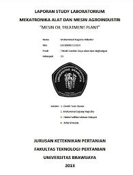 format laporan praktikum laboratorium mekatron