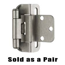 Full Wrap Around Cabinet Hinges by Cabinet Semi Wrap Overlay Hinge Knobs Less Com Offers Amerock