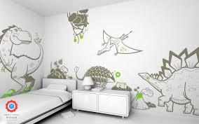dinosaur wall mural stickers liana fruit kids wall decals