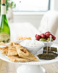 entertain unexpected guests with mediterranean appetizers