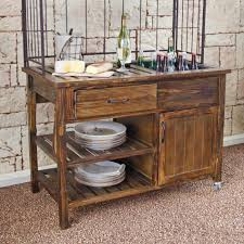 courtyard rustic outdoor buffet patio accessories at usa