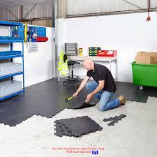 interlocking garage floor tiles offer a great floor acadian