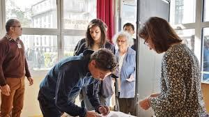 le bureau brest brest présidentielle il y a du monde dans les bureaux de vote