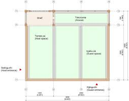 house dimensions welcome to green tea room major components and dimension for