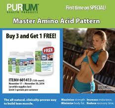 master amino acid pattern purium master amino acid pattern archives