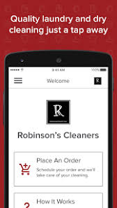 cleaners for android robinson s cleaners android apps on play