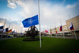 Why Are The Flags Flying Half Mast Nato News Flags At Half Mast At Nato Hq In Solidarity With