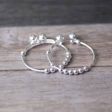 baby silver gifts s990 sterling silver small bell baby adjustable bracelet bangle