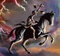 the horsemen of revelation the black horse of famine united