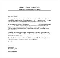 example of simple cover letter for job application 12442
