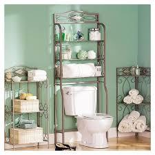 ideas for bathroom shelves small bathroom storage idea with diy shelving the toilet