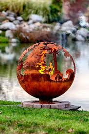 Fire Pit Globe by Up North Custom Fire Pit Sphere The Fire Pit Gallery