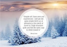 25 beautiful quotes about snow poem